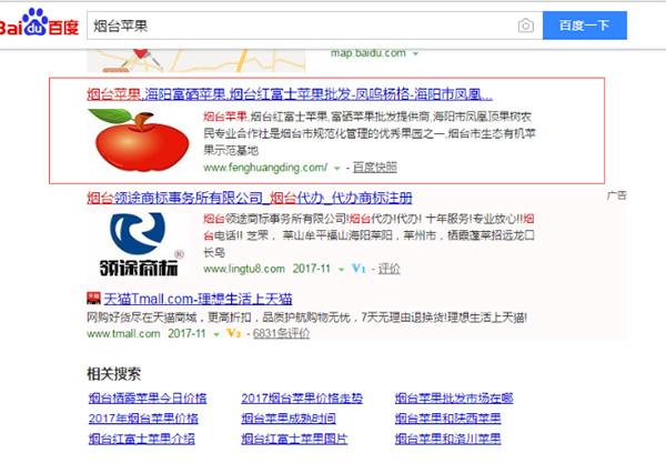 凤凰顶苹果关键词seo优化案例