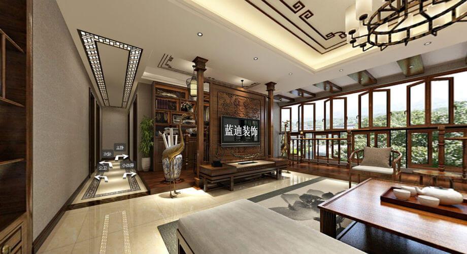 珠海东南亚别墅装修效果图案例欣赏