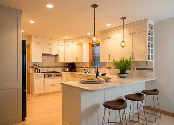 敞开式厨房装修有哪些技巧? 厨房装修有哪些禁忌?