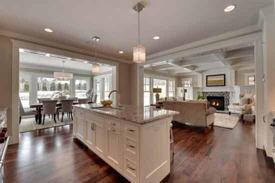 客厅厨房装修风水须知   厨房装修有哪些注意