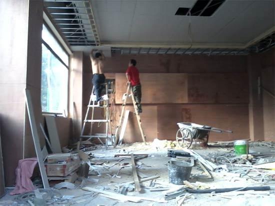 装修施工的注意事项   装修木工施工工艺流程