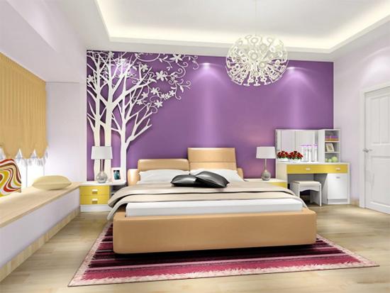 紫色配什么色好看    颜色搭配的四个黄金法则