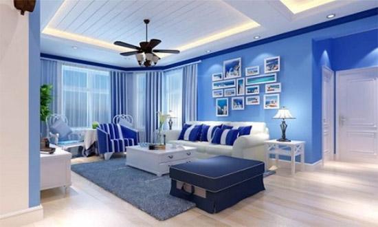 乳胶漆颜色有哪些?  客厅常用的5中乳胶漆颜色推荐