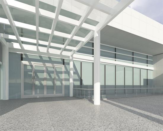 珠海蓝迪装饰设计公司成功中标珠海轻轨站旅客通道工程